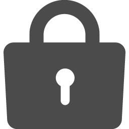 鍵のクローズアイコン素材 アイコン素材ダウンロードサイト Icooon Mono 商用利用可能なアイコン 素材が無料 フリー ダウンロードできるサイト