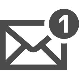 メールのアイコン素材 その4 アイコン素材ダウンロードサイト Icooon Mono 商用利用可能なアイコン素材が無料 フリー ダウンロード できるサイト
