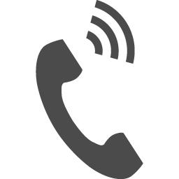 電話の受話器のアイコン素材 その2 アイコン素材ダウンロードサイト Icooon Mono 商用利用可能なアイコン 素材が無料 フリー ダウンロードできるサイト