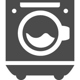 ドラム式の洗濯機のアイコン素材 アイコン素材ダウンロードサイト Icooon Mono 商用利用可能なアイコン素材が無料 フリー ダウンロードできるサイト