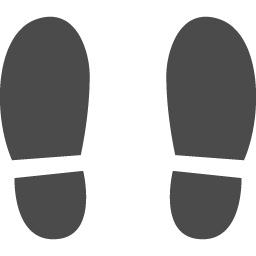 足あとのアイコン素材 アイコン素材ダウンロードサイト Icooon Mono 商用利用可能なアイコン素材 が無料 フリー ダウンロードできるサイト