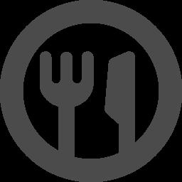 フォークとナイフの組み合わせアイコン その2 アイコン素材ダウンロードサイト Icooon Mono 商用利用可能なアイコン素材が無料 フリー ダウンロードできるサイト