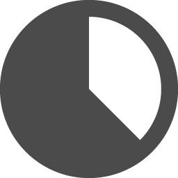円グラフのアイコン素材 アイコン素材ダウンロードサイト Icooon Mono 商用利用可能なアイコン素材が無料 フリー ダウンロードできるサイト