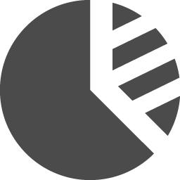 円グラフのアイコン素材 その2 アイコン素材ダウンロードサイト Icooon Mono 商用利用可能なアイコン素材が無料 フリー ダウンロードできるサイト