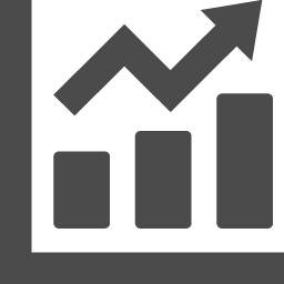 折れ線と棒グラフのアイコン素材 アイコン素材ダウンロードサイト Icooon Mono 商用利用可能なアイコン 素材が無料 フリー ダウンロードできるサイト