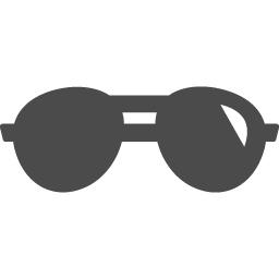 サングラスの無料アイコン素材 アイコン素材ダウンロードサイト Icooon Mono 商用利用可能なアイコン素材が無料 フリー ダウンロードできるサイト