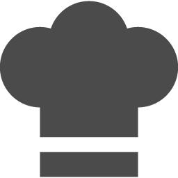 コックさんの帽子のアイコン素材 アイコン素材ダウンロードサイト Icooon Mono 商用利用可能なアイコン素材が無料 フリー ダウンロードできるサイト