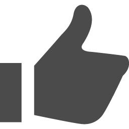 Facebookのいいね風アイコン その2 アイコン素材ダウンロードサイト Icooon Mono 商用利用可能なアイコン素材が無料 フリー ダウンロードできるサイト