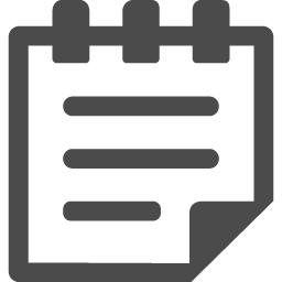 メモ帳のフリーアイコン素材 アイコン素材ダウンロードサイト Icooon Mono 商用利用可能なアイコン素材が無料 フリー ダウンロードできるサイト