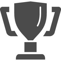 トロフィーのアイコン素材 アイコン素材ダウンロードサイト Icooon Mono 商用利用可能なアイコン素材が無料 フリー ダウンロードできるサイト