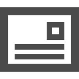 はがき 手紙のアイコン素材 アイコン素材ダウンロードサイト Icooon Mono 商用利用可能なアイコン素材が無料 フリー ダウンロードできるサイト