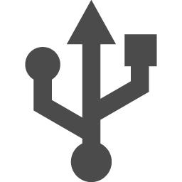 Usbマークのアイコン素材 アイコン素材ダウンロードサイト Icooon Mono 商用利用可能なアイコン素材が無料 フリー ダウンロードできるサイト