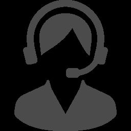 コールセンターの人物アイコン素材 その3 アイコン素材ダウンロードサイト Icooon Mono 商用利用可能なアイコン 素材が無料 フリー ダウンロードできるサイト