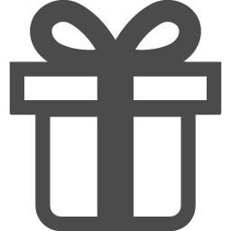 プレゼントのアイコン素材 その2 アイコン素材ダウンロードサイト Icooon Mono 商用利用可能なアイコン素材が無料 フリー ダウンロードできるサイト