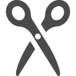 ハサミのフリーアイコン アイコン素材ダウンロードサイト Icooon Mono 商用利用可能なアイコン素材が無料 フリー ダウンロードできるサイト