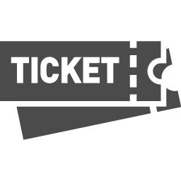 Ticket Icon 2 アイコン素材ダウンロードサイト Icooon Mono 商用利用可能なアイコン素材が無料 フリー ダウンロードできるサイト