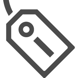 プライスタグのフリーアイコン アイコン素材ダウンロードサイト Icooon Mono 商用利用可能なアイコン 素材が無料 フリー ダウンロードできるサイト