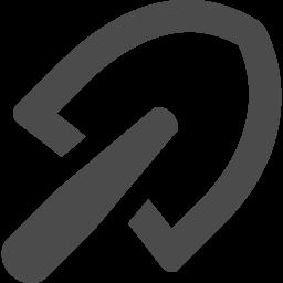 スコップのフリーアイコン アイコン素材ダウンロードサイト Icooon Mono 商用利用可能なアイコン 素材が無料 フリー ダウンロードできるサイト