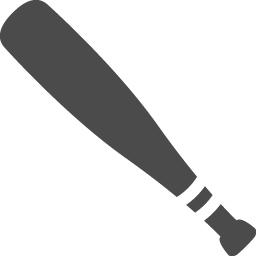 バットのアイコン素材 アイコン素材ダウンロードサイト Icooon Mono 商用利用可能なアイコン素材が無料 フリー ダウンロードできるサイト