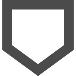 ホームベースのアイコン素材 アイコン素材ダウンロードサイト Icooon Mono 商用利用可能なアイコン素材 が無料 フリー ダウンロードできるサイト