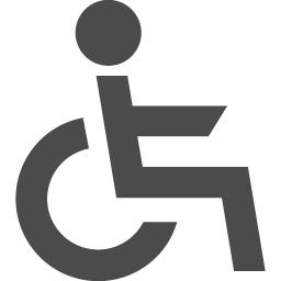 車いすのマーク素材 アイコン素材ダウンロードサイト Icooon Mono 商用利用可能なアイコン素材が無料 フリー ダウンロードできるサイト
