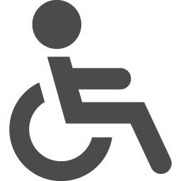 車いすのマーク素材 2 アイコン素材ダウンロードサイト Icooon Mono 商用利用可能なアイコン素材が無料 フリー ダウンロード できるサイト