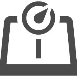 ヘルスメーターのフリーアイコン アイコン素材ダウンロードサイト Icooon Mono 商用利用可能なアイコン 素材が無料 フリー ダウンロードできるサイト