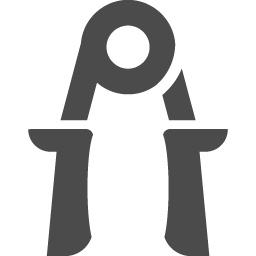 握力のアイコン アイコン素材ダウンロードサイト Icooon Mono 商用利用可能なアイコン素材が無料 フリー ダウンロードできるサイト