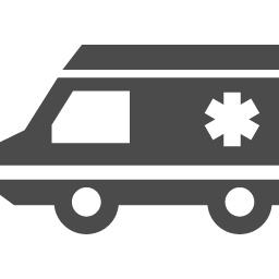 救急車のフリーアイコン アイコン素材ダウンロードサイト Icooon Mono 商用利用可能なアイコン素材が無料 フリー ダウンロードできるサイト