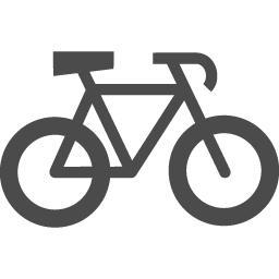 自転車の無料アイコン アイコン素材ダウンロードサイト Icooon Mono 商用利用可能なアイコン素材が無料 フリー ダウンロードできるサイト