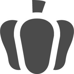 カボチャまたはパプリカ アイコン素材ダウンロードサイト Icooon Mono 商用利用可能なアイコン素材 が無料 フリー ダウンロードできるサイト