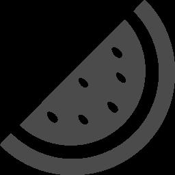 スイカの無料アイコン アイコン素材ダウンロードサイト Icooon Mono 商用利用可能なアイコン素材が無料 フリー ダウンロードできるサイト