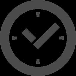 時計のアイコン 1 アイコン素材ダウンロードサイト Icooon Mono 商用利用可能なアイコン素材が無料 フリー ダウンロードできるサイト