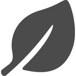 葉っぱアイコン1 アイコン素材ダウンロードサイト Icooon Mono 商用利用可能なアイコン素材が無料 フリー ダウンロードできるサイト