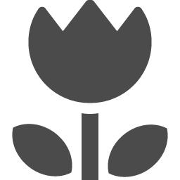 チューリップイラスト アイコン素材ダウンロードサイト Icooon Mono 商用利用可能なアイコン素材が無料 フリー ダウンロードできるサイト