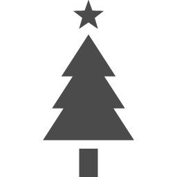 クリスマスツリーのピクトグラム アイコン素材ダウンロードサイト Icooon Mono 商用利用可能なアイコン素材が無料 フリー ダウンロードできるサイト