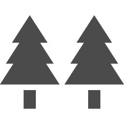 木と木で林 そんなフリーアイコン アイコン素材ダウンロードサイト Icooon Mono 商用利用可能なアイコン素材が無料 フリー ダウンロードできるサイト