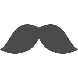 シンプルなヒゲのアイコン アイコン素材ダウンロードサイト Icooon Mono 商用利用可能なアイコン素材が無料 フリー ダウンロードできるサイト