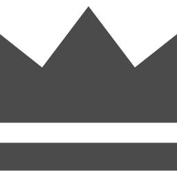 シンプルな王冠素材 アイコン素材ダウンロードサイト Icooon Mono 商用利用可能なアイコン素材が無料 フリー ダウンロードできるサイト