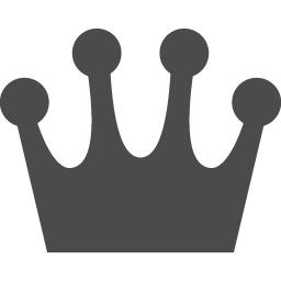 王冠アイコン アイコン素材ダウンロードサイト Icooon Mono 商用利用可能なアイコン素材が無料 フリー ダウンロードできるサイト