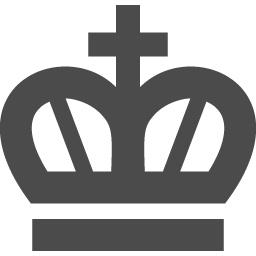 でっぷりとした王冠のフリーアイコン アイコン素材ダウンロードサイト Icooon Mono 商用利用可能なアイコン 素材が無料 フリー ダウンロードできるサイト