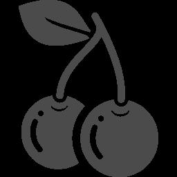 さくらんぼの無料アイコン アイコン素材ダウンロードサイト Icooon Mono 商用利用可能なアイコン素材が無料 フリー ダウンロードできるサイト