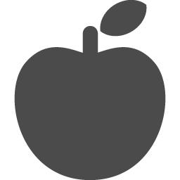 リンゴのアイコン アイコン素材ダウンロードサイト Icooon Mono 商用利用可能なアイコン素材が無料 フリー ダウンロードできるサイト