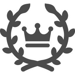 月桂冠のフリーアイコン アイコン素材ダウンロードサイト Icooon Mono 商用利用可能なアイコン素材が無料 フリー ダウンロードできるサイト