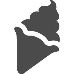 ソフトクリームアイコンその3 アイコン素材ダウンロードサイト Icooon Mono 商用利用可能なアイコン素材が無料 フリー ダウンロードできるサイト