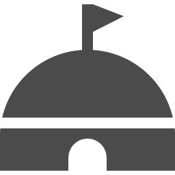 モンゴルの移動式住居 ゲル パオ のフリーアイコン アイコン素材ダウンロードサイト Icooon Mono 商用利用可能なアイコン 素材が無料 フリー ダウンロードできるサイト