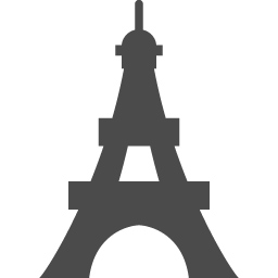 エッフェル塔のフリーアイコン アイコン素材ダウンロードサイト Icooon Mono 商用利用可能なアイコン素材が無料 フリー ダウンロードできるサイト