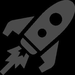 ロケットアイコンその11 アイコン素材ダウンロードサイト Icooon Mono 商用利用可能なアイコン素材が無料 フリー ダウンロードできるサイト