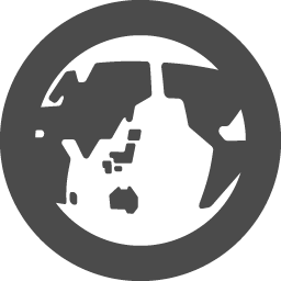 地球の無料アイコンその3 アイコン素材ダウンロードサイト Icooon Mono 商用利用可能なアイコン素材が無料 フリー ダウンロードできるサイト