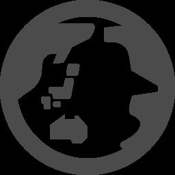 地球のフリーアイコンその4 アイコン素材ダウンロードサイト Icooon Mono 商用利用可能なアイコン素材が無料 フリー ダウンロードできるサイト
